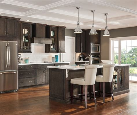 kitchen islands with sink gray kitchen cabinets aristokraft cabinetry