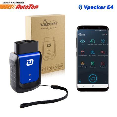 vpecker  bluetooth obd  auto scanner  system odb
