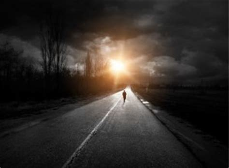 Go Towards The Light by Staring Into The Of Adversity Is Learning