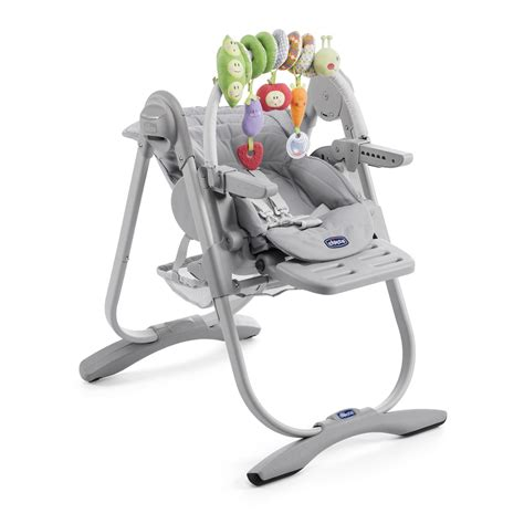 chaise chicco polly magic 3 en 1 chicco highchair polly magic relax 2017 light grey buy