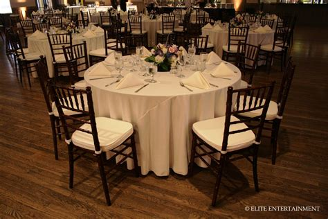 wedding tables and chairs elite entertainment elite bridal a taste of our work