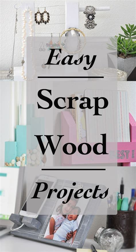 simple scrap wood projects  beginners easy