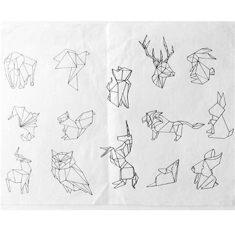origami lion tattoo google search shoulder tattoos