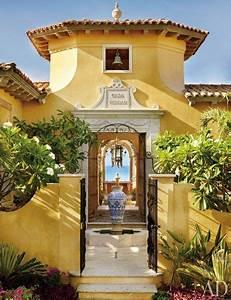 Innenhof Spanischer Häuser : die besten 25 spanish hacienda homes ideen auf pinterest hacienda h user spanischen ~ Udekor.club Haus und Dekorationen