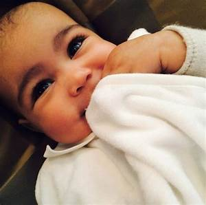 Kim Kardashian shares smiling new picture of North West