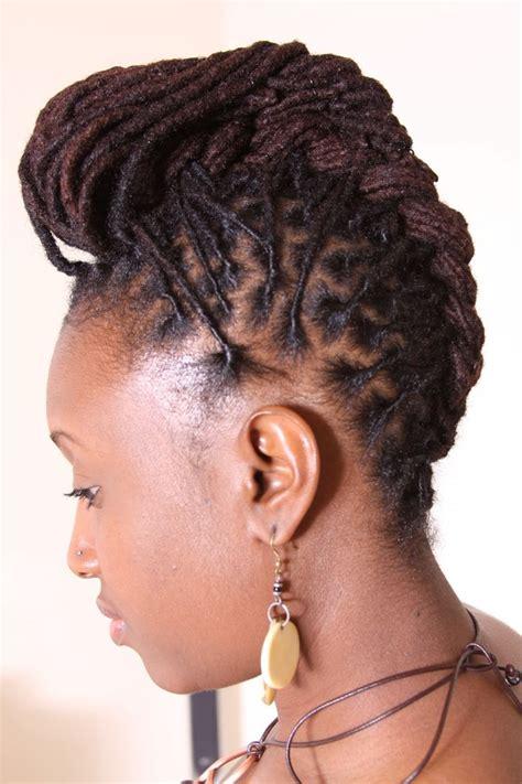 dreadlock updo hairstyles  women hairstylo