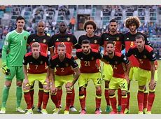 Belgium National Football Team Roster Players Squad 2018