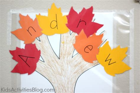 7 easy and festive fall crafts for for 543 | name sticky tree1