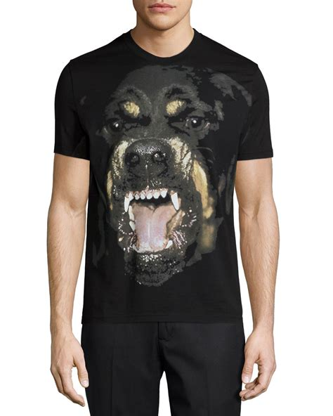 lyst givenchy rottweiler short sleeve graphic tee