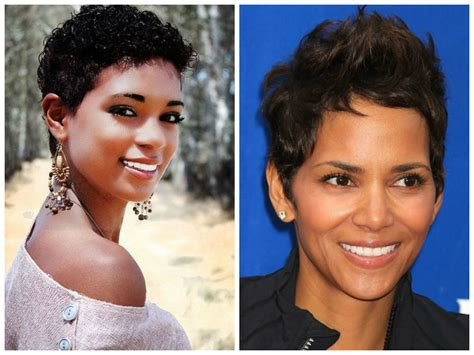 hairstyles  black women    face