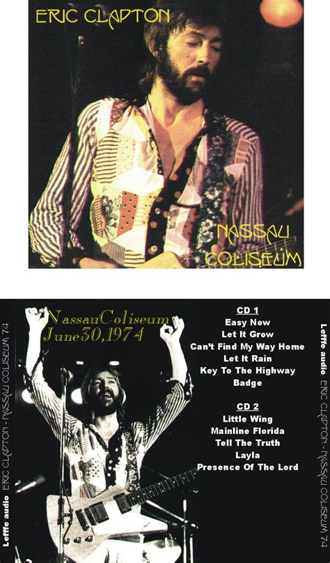 eric clapton quot can t find my way home quot guitar tab eric clapton nassau coliseum 1974 New