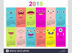 Monthly Calendar Stock Photos & Monthly Calendar Stock
