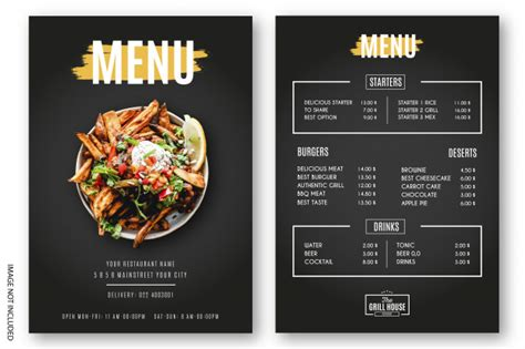 They usually have a cabinet or. 60 Best Menu Templates for Restaurants & Coffee Shops - Onedesblog