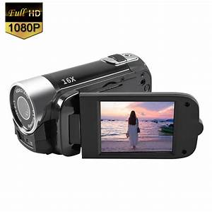 Mignova 1080P HD Camcorder Digital Video Camera 16x Zoom Digital Video Camera Recorder(Black ...