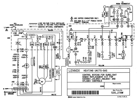 Schematic Diagram For Lennox Furnace Control Board