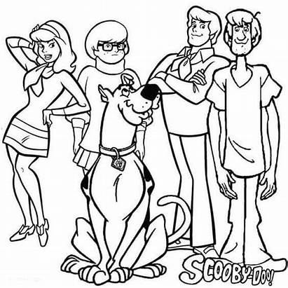 Scooby Doo Coloring Pages Printable Sheets