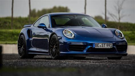 Blue Porsche 911 by 2017 Porsche 911 Turbo S Blue Arrow By Edo Competition