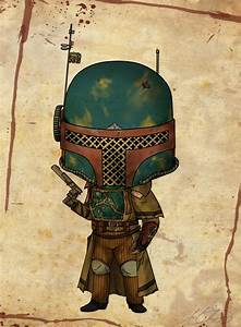 Steampunk Boba Fett by Mibu-no-ookami on DeviantArt