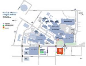 UK Hospital Lexington KY Map