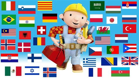 Bob The Builder Theme Song (in 34 Different Languages
