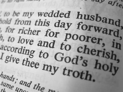 christian wedding vows vows don t write your own the christian pundit