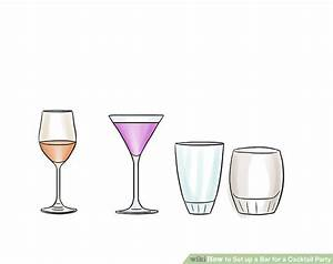 Set A Cocktail : how to set up a bar for a cocktail party with pictures wikihow ~ Teatrodelosmanantiales.com Idées de Décoration