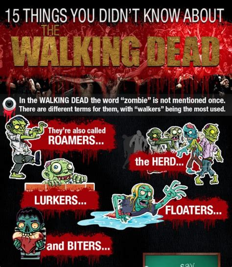 15 things you didn t know about the walking dead
