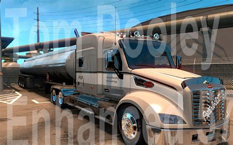 peterbilt enhanced 579 by tomdooley 1 28 ats truck simulator 2 mods