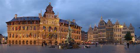 Historic European City Antwerp Now Majority-Minority…