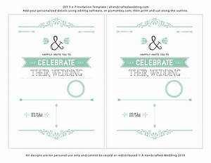 free wedding invitation template theruntimecom With wedding invitation video maker templates free download