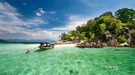 Thailand Daru Island Marine National Park Bing Wallpaper