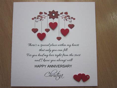 details  personalised handmade anniversary