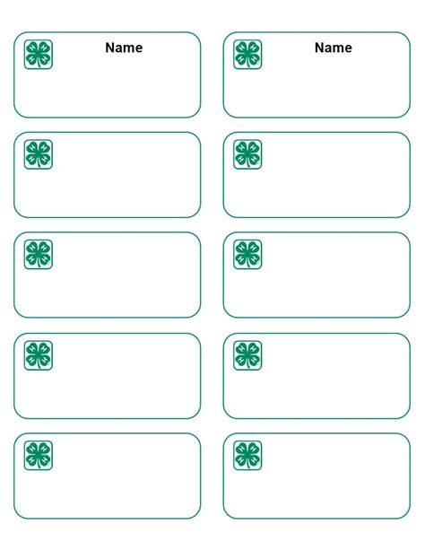 free template for name badges 47 free name tag badge templates ᐅ template lab