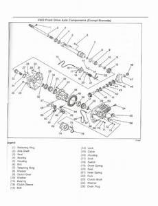 1997 Blazer No 4wd  Electrical Problem