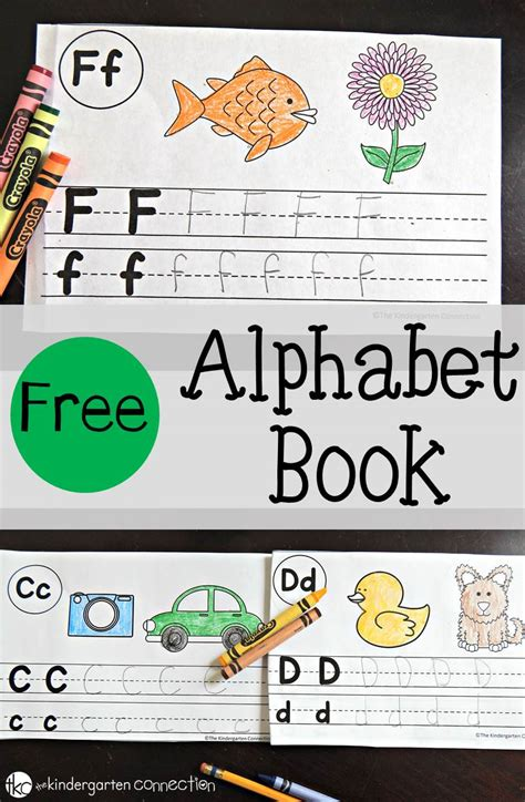 free alphabet book the kindergarten connection 726   Alphabet Book