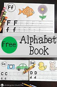 free alphabet book the kindergarten connection With alphabet letter books