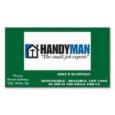 funny handyman business card zazzlecom handyman