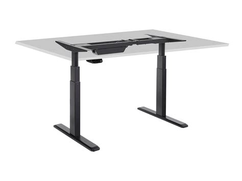 height adjustable sit stand desk sit stand dual motor height adjustable desk frame