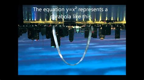 Parabolas In Real Life