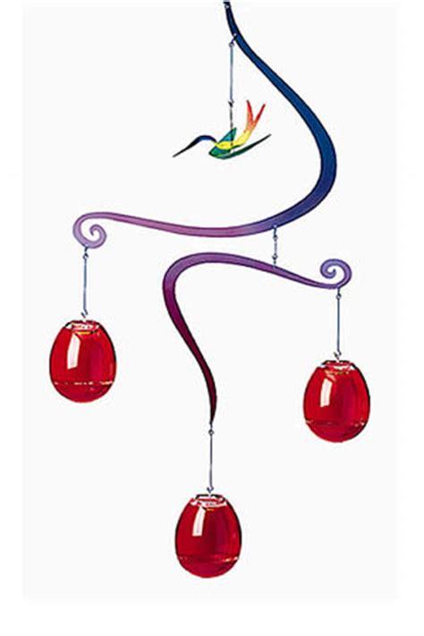 mobile hummingbird feeder