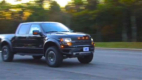 ford raptor supercharged  roush performance exhaust
