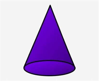 Cone Shapes Shape 3d Clipart Transparent Pngkey