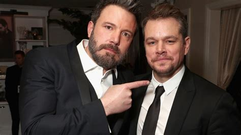 Best Matt Damon Ben Affleck Tells Chris Hemsworth He Can Matt Damon