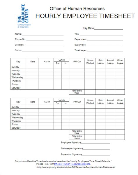 hourly employee timesheet template 50 printable timesheet templates free word excel documents