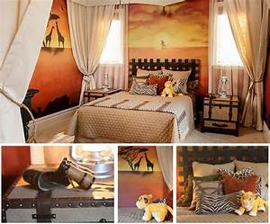 Chambre Bébé Disney : la chambre d 39 enfant roi lion ~ Farleysfitness.com Idées de Décoration
