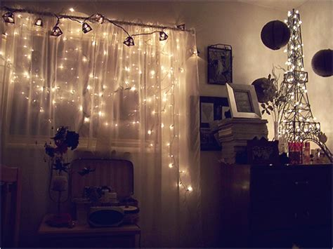 young woman bedroom and string lights add feminine appealing to your rooms with installing
