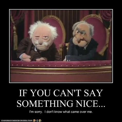 Waldorf And Statler Meme - muppets statler and waldorf quotes quotesgram