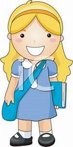 Girl Go To School Clipart | www.pixshark.com - Images ...