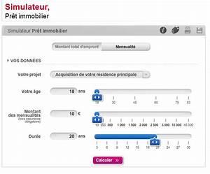 Delai Reponse Banque Pour Pret Immobilier : simulateur de pr t soci t g n rale ~ Maxctalentgroup.com Avis de Voitures