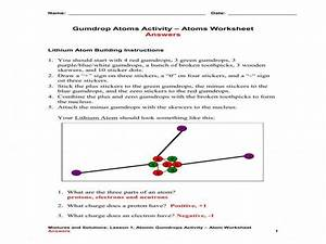 29 Parts Of An Atom Worksheet Answers